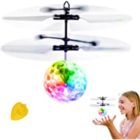 Betheaces Rechargeable Light Up Ball Infrared Induction Helicopter with Remote Controller
