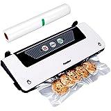 Finether Appareil de Mise Machine à Emballer Sous Vide Ménage Alimentation Vacuum Sealer Système d'emballage Alimentaire Sous Vide