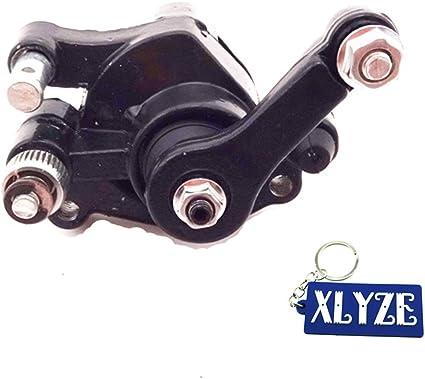 Pastillas de freno de disco delantero para bicicleta de bolsillo de 2 tiempos 47 cc 49 cc Mini Bike ATV Quad Dirt Pit Bike