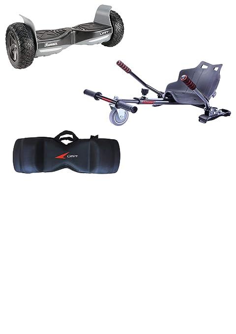 Umit Conjunto Pack Patinete eléctrico Hammer Negro + Silla + ...