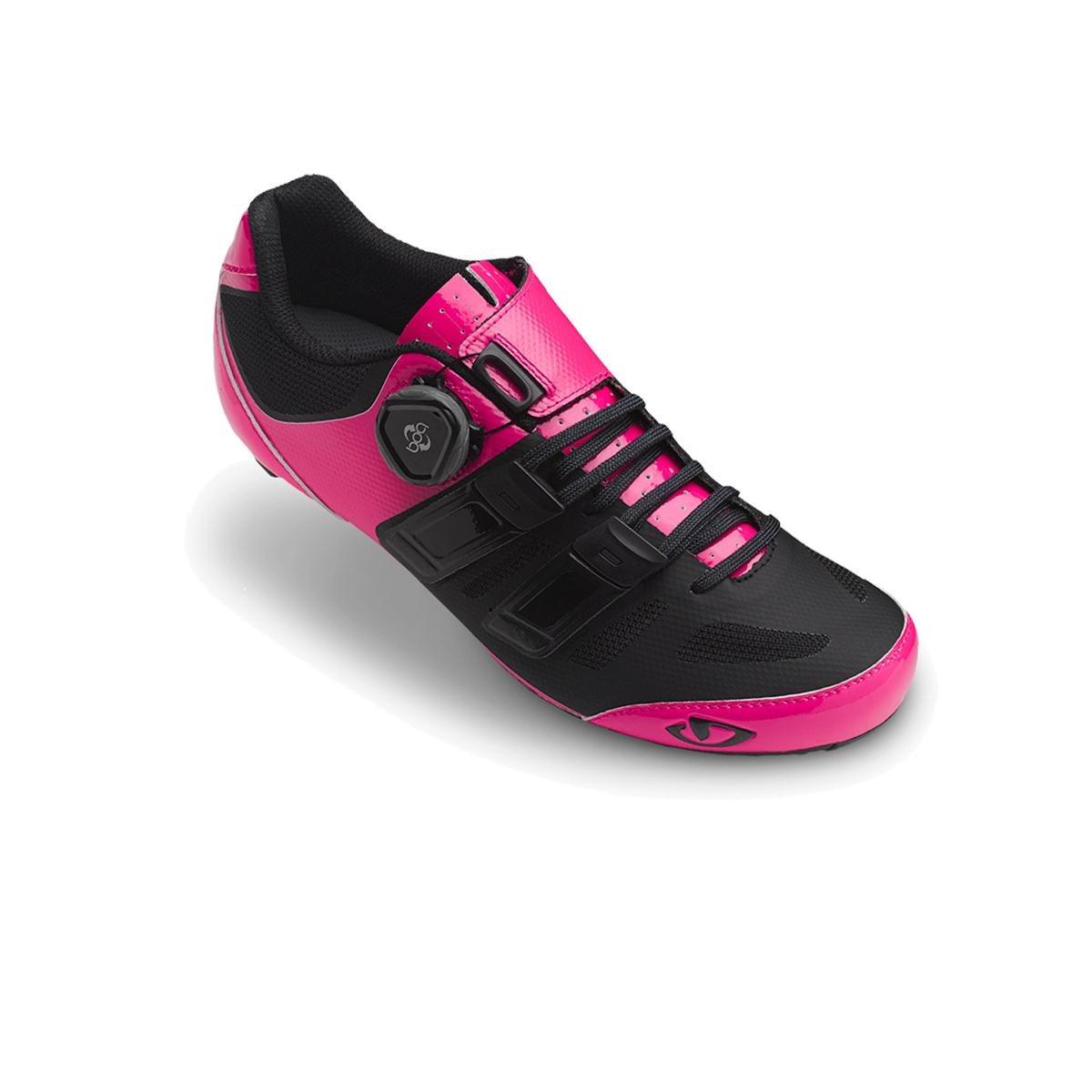 Bright Pink Black 41.5 EU Giro Raes Techlace Cycling shoes  Women's