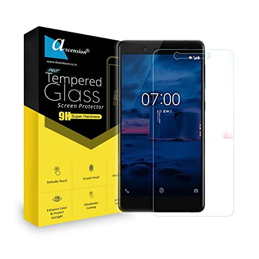 Ascension  reg; Curve Tempered Glass Gorilla Screen Guard Screen Protector High 9H Hard 2.5D Ultra Clear for Micromax YU Yureka AO5510  Transparent