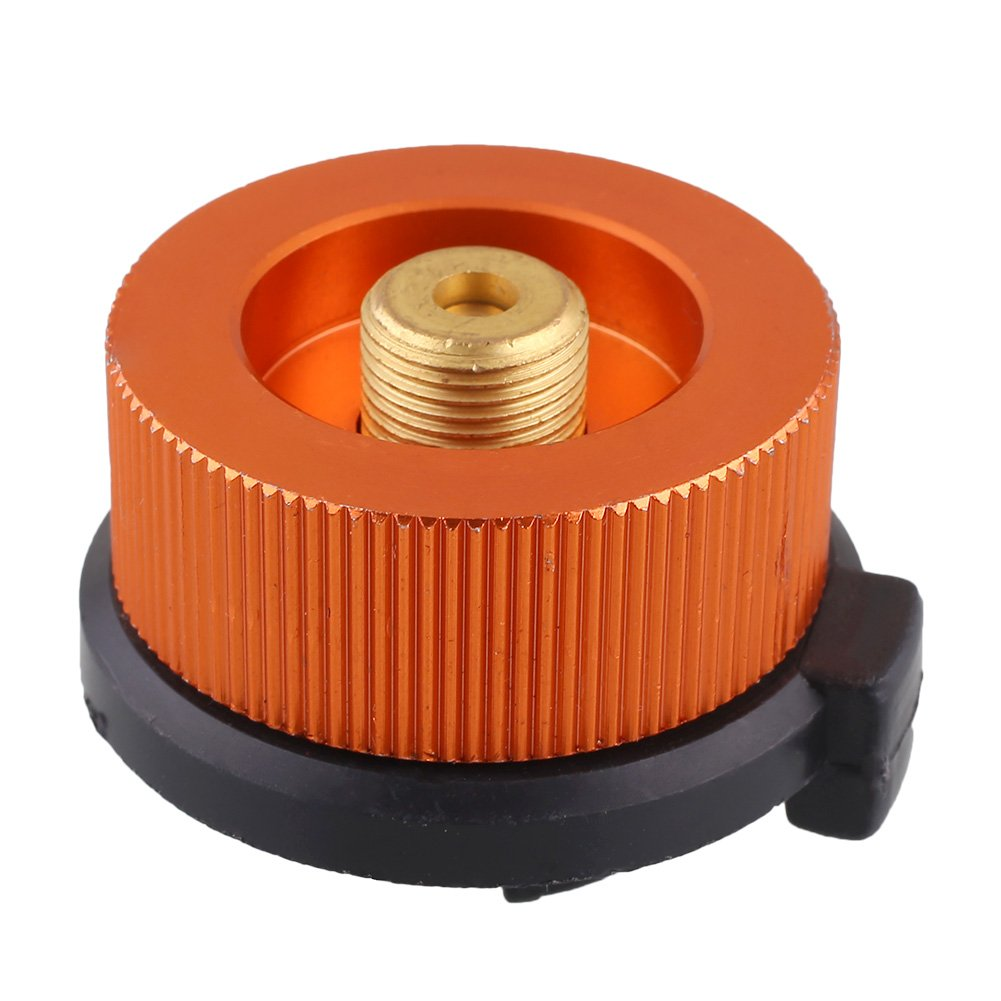 Outdoor Hiking Stove Furnace Converter Connector Gas Canister Cans Tank Adapter
