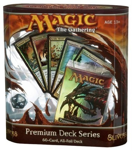 Magic The Gathering: Limited Edition Premium Deck Series: SLIVERS (Sliver Deck Magic Gathering)