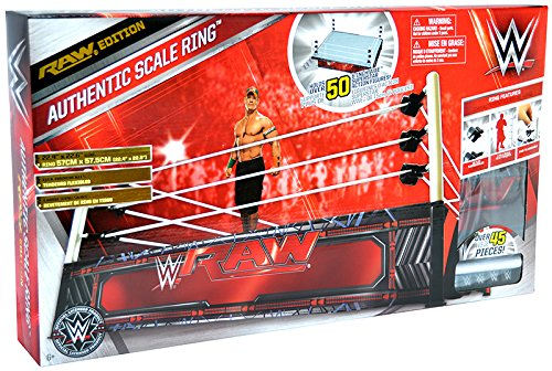 """""""RAW Edition"""" WWE Authentic Scale Ring - Wicked Cool Toys WW"""