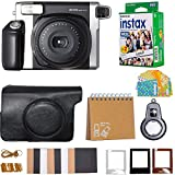 Fujifilm INSTAX Wide 300 Camera Instant Camera with Fujifilm Instax Wide Instant Film Twin Pack Instant Film (20 Shots) + Camera Case Top Bundle