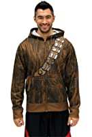 Star Wars Chewbacca & Threepio Fleece Zip Hoodie and Backpack