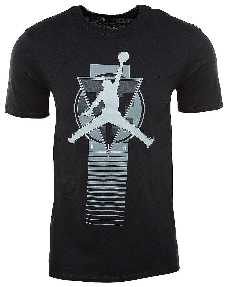 (ジョーダン) Jordan ウェア Tシャツ AJ Elevate S/S Tee Blk/Gry バスケットボール B01LJ06M8S Blk/Gry Medium