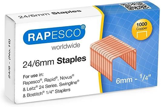 Staples Plus Copper Type 10 1000 Staples x Box