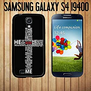 Bible Philippians 4 13 Bible verse Custom made Case/Cover/Skin FOR Samsung Galaxy S4 -Black- Rubber Case (Ship From CA) by mcsharks