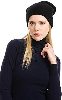 6de5b02ddc4 Citizen Cashmere Women s Oversized Slouchy Beanie - 100% Cashmere