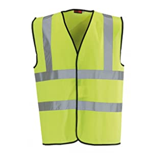 Blackrock Men's High Visibility Waistcoat Yellow EN471 Class 2