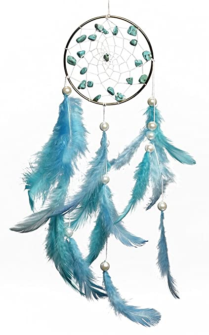 Buy Rooh Tibetian Blue Brass Dream Catcher 7 Cm X 05 Cm X 25 Cm