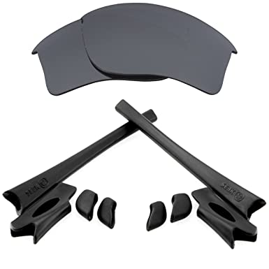 f38d60d468 FLAK JACKET XLJ Lenses Accessories Kit Black Iridium Black by SEEK fits  OAKLEY