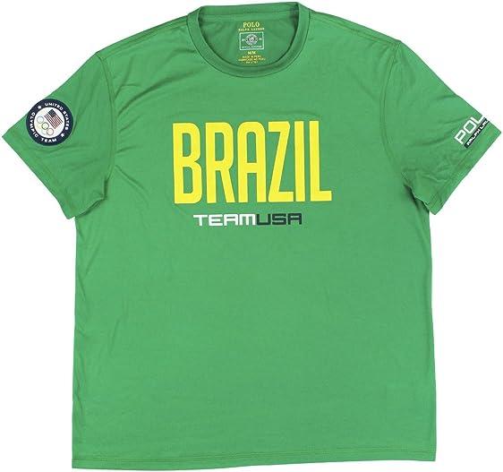Polo Ralph Lauren Men\u0027s 2016 Olympic USA Team Graphic T-Shirt Medium Green