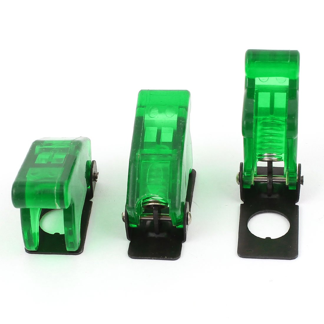 3 Pcs Waterproof Toggle Switch Flip Safety Cover Protection Cap 12mm uxcell a15011200ux0477