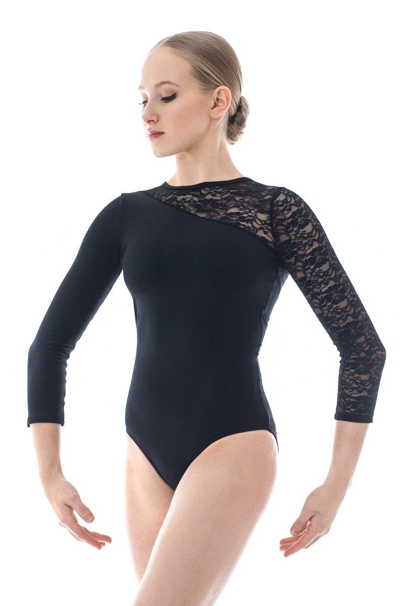 Dance Gear RL340 Womens Long Lace Sleeved Leotard