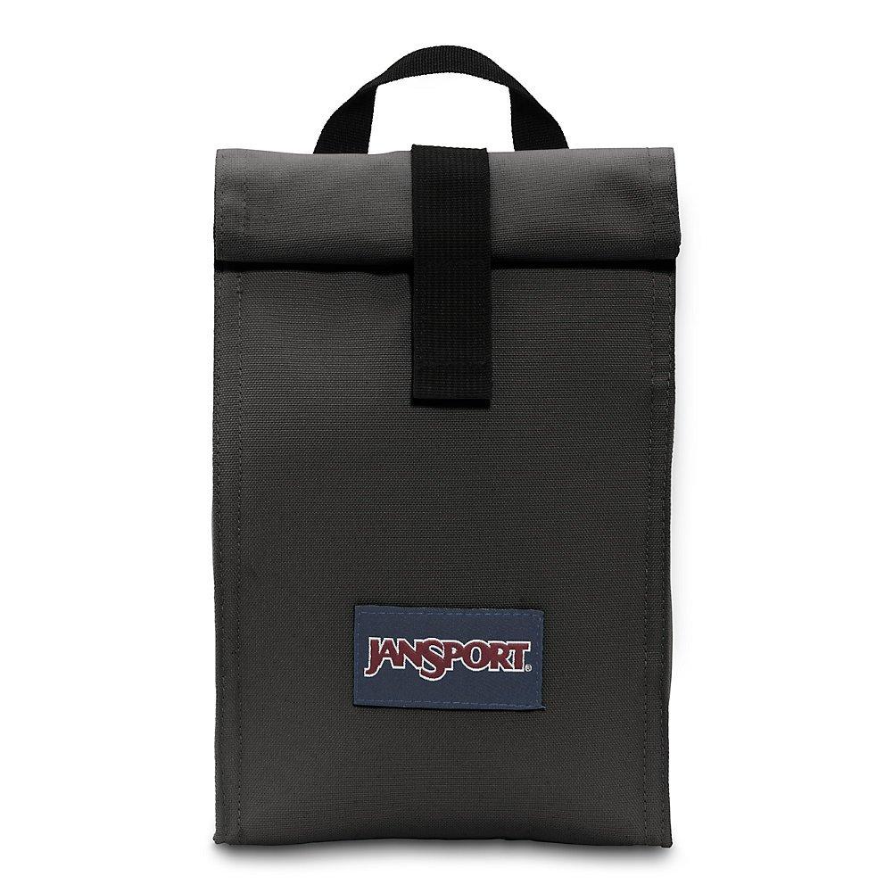 JanSport Rolltop Lunch Bag - Black - Insulated, Spill-Resistant