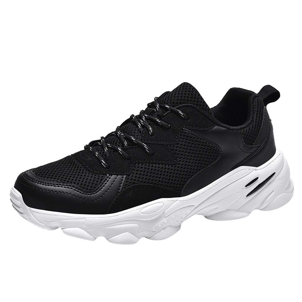CUTUDE Sneakers Sicherheitsschuhe Herren Sport Laufende Schuhemit Sommer Leicht Atmungsaktiv Sport Laufende Schuhe Pannensicher Turnschuhe Beiläufige Schuh Kursteilnehmer