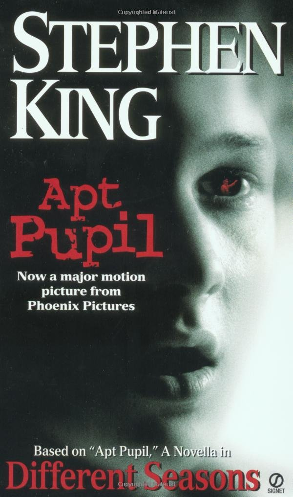 apt pupil different seasons stephen king  apt pupil different seasons stephen king 9780451197122 com books