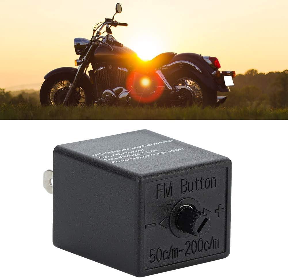 12v 24v 3-pin Regolabile LED Rel/è Lampeggiatore Indicatore di Direzione Lampeggiatore per Motocicletta LED Elettronico Rel/è Lampeggiatore Correzione