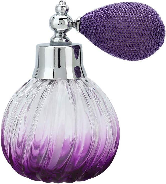 Botella vacía del aerosol de perfume de la manera - botella de cristal recargable del dispensador del atomizador del perfume (90ml)