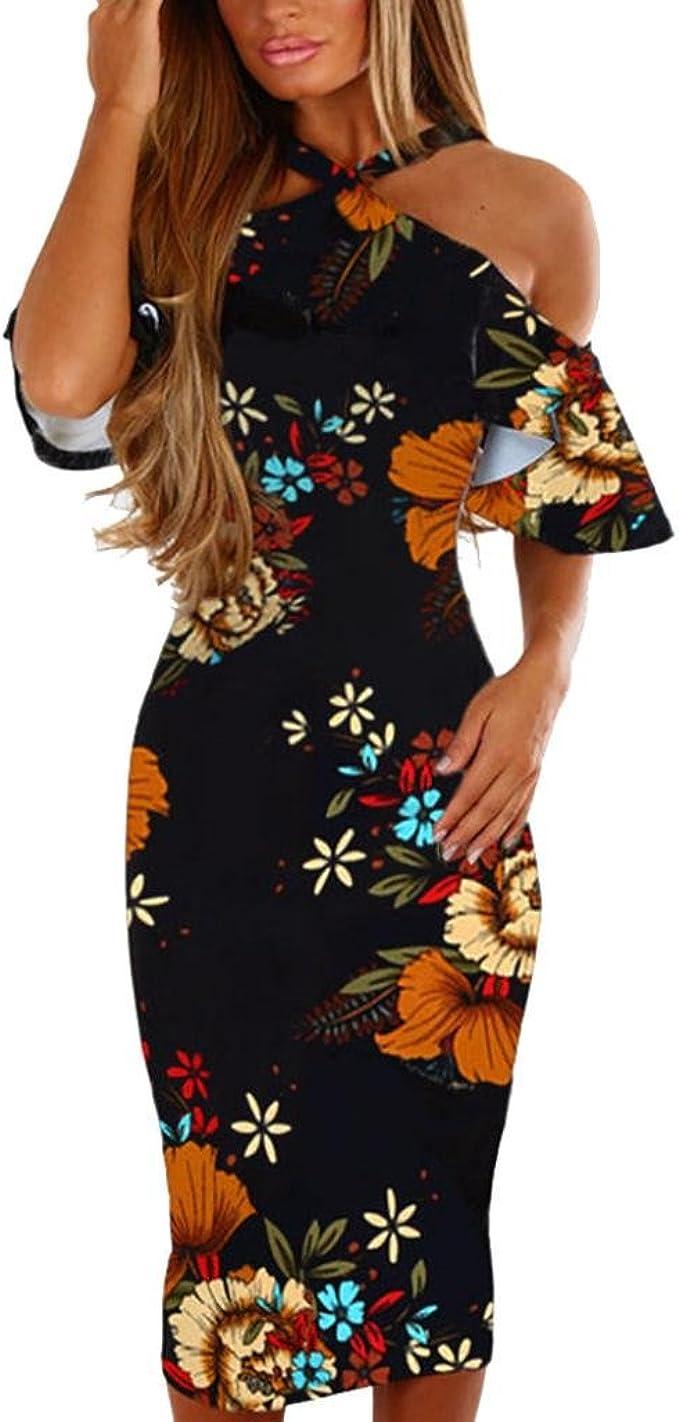 Vectry Kleider Damen Kleid Brautjungfernkleid Petticoat Lange Kleid Sommer  Jumpsuit Kurz Ballkleid Kleiderbügel Über Dem Knie - Unabhängigkeitstag