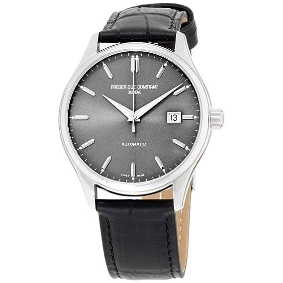 Frederique Constant Classic Index Automatic Steel Mens Watch E-Strap Date FC-303LGS5B6: Amazon.es: Relojes