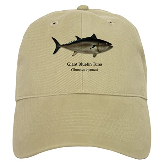 28df6c1c60c Amazon.com  CafePress - Bluefin Tuna - Baseball Cap with Adjustable ...
