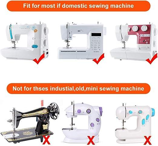 XCOZU - Juego de 11 prensatelas para máquina de coser con ...