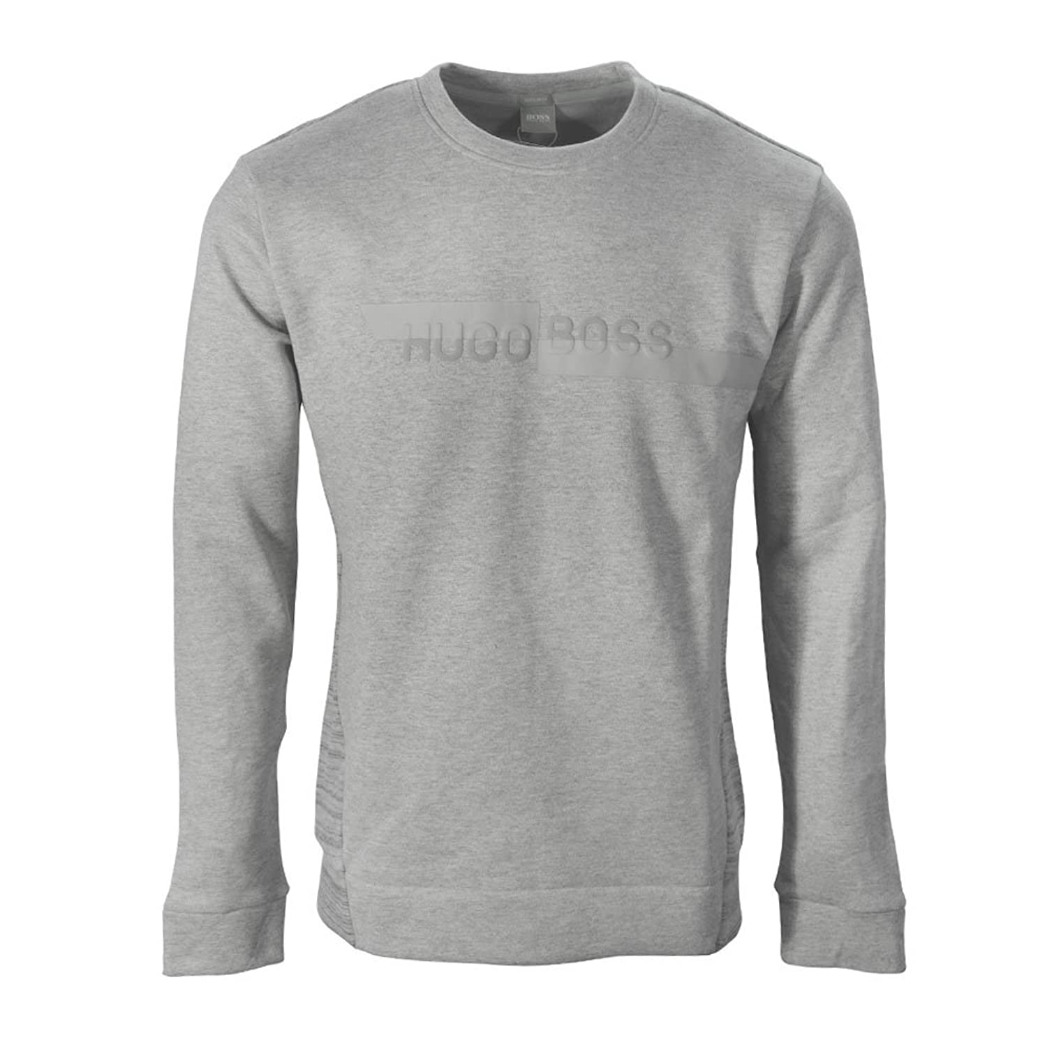 Hugo Boss Mens Salbo 2 Sweatshirt Grey