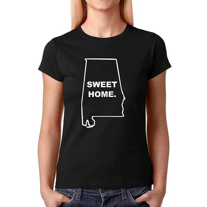 AW Fashions Sweet Home Alabama - Native Alabama Love Premium Womens T-Shirt (Small