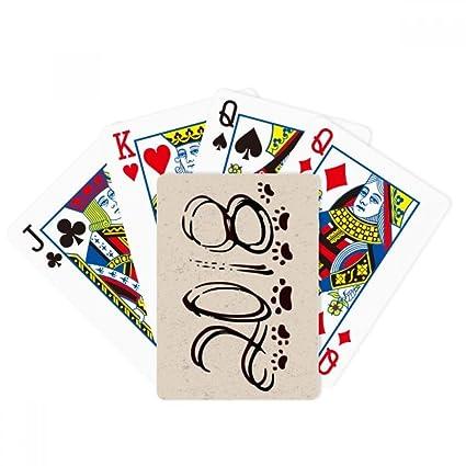 Huellas de perro doble efectos 2018 Poker juego de cartas ...