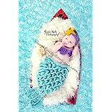 Baby Mermaid Set Starfish Headband Shells Tail Cape