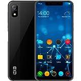 Smartphone ohne Vertrag Dual SIM Elephone A4 Fingerabdruck-Detektor & Android 8.1 Quad OTG Mobile Phone 5,85 Zoll - 3 GB RAM - 16 GB Speicher Große Batterie Leicht zu tragen - Schwarz