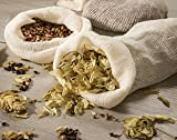 Hops and Grain Muslin Steeping Bag - Cotton Mills Beer Brewing Bags 11'' (10 Count) - Microbrew, Homebrew Filtering Accessories - Boiling Bags For Tea, Cooking, Nut Milk, Soups - Hop and Grains Socks