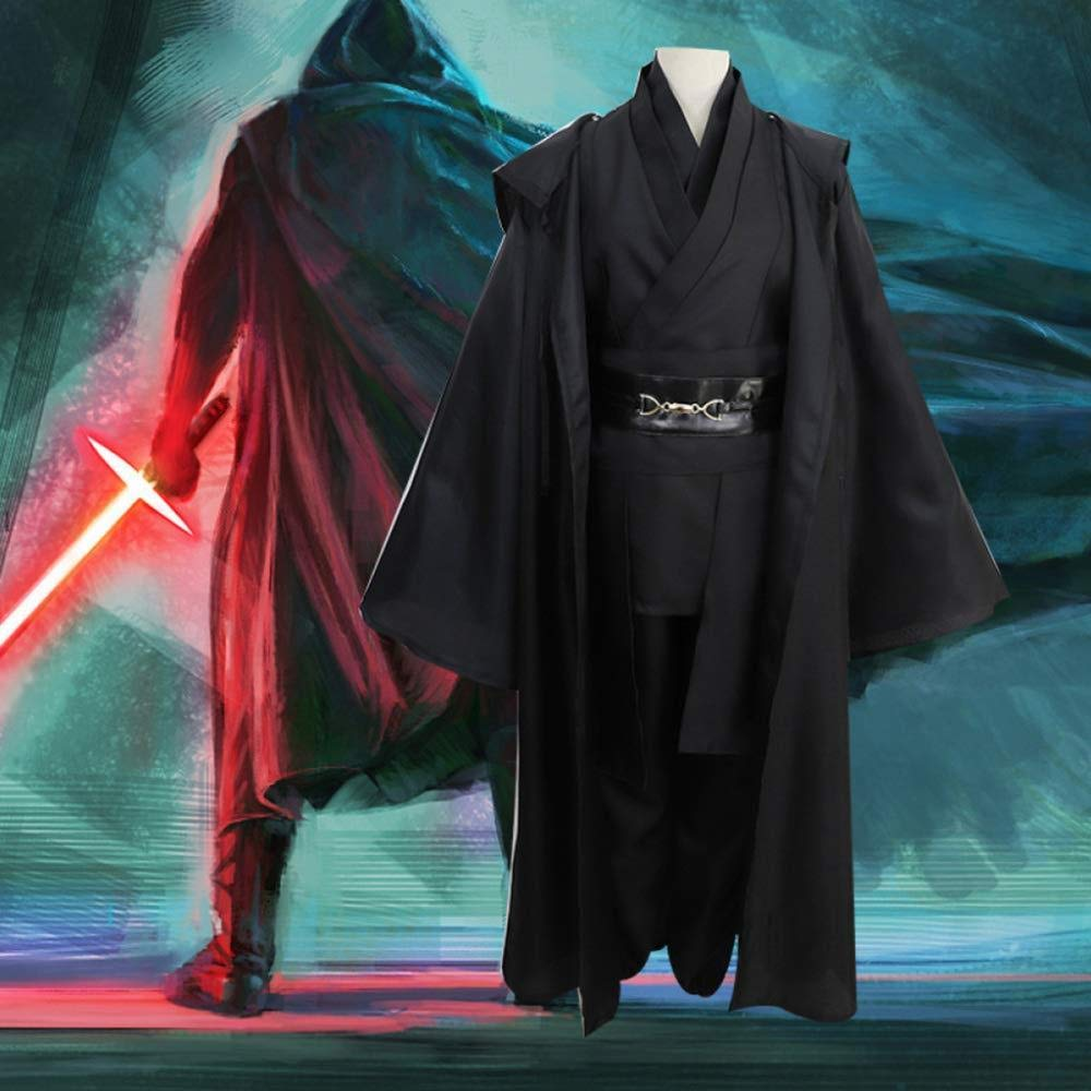 Traje De Cosplay De Star Wars Jedi Knight Set Anakin Sith ...