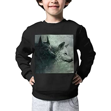 Amazon Com Kid Park Cool Wolf Backgrounds 052 Super Cute Pullover