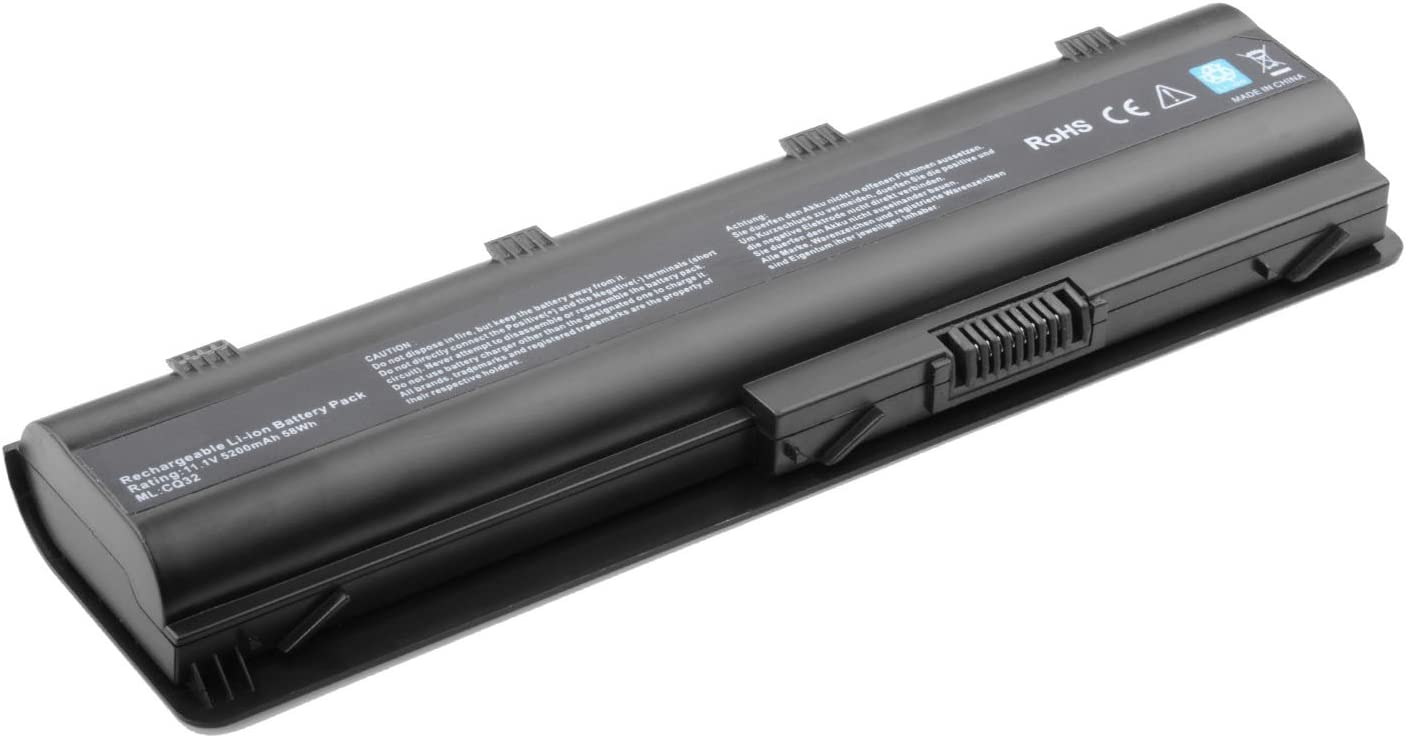 Replacement Battery Compatible with HP 593553-001 Compaq Presario CQ62 CQ56 CQ57 CQ42 CQ43 CQ32, HP G72 G62 G56 G42 G32, Pavilion G6 G7, HP 2000 Notebook PC