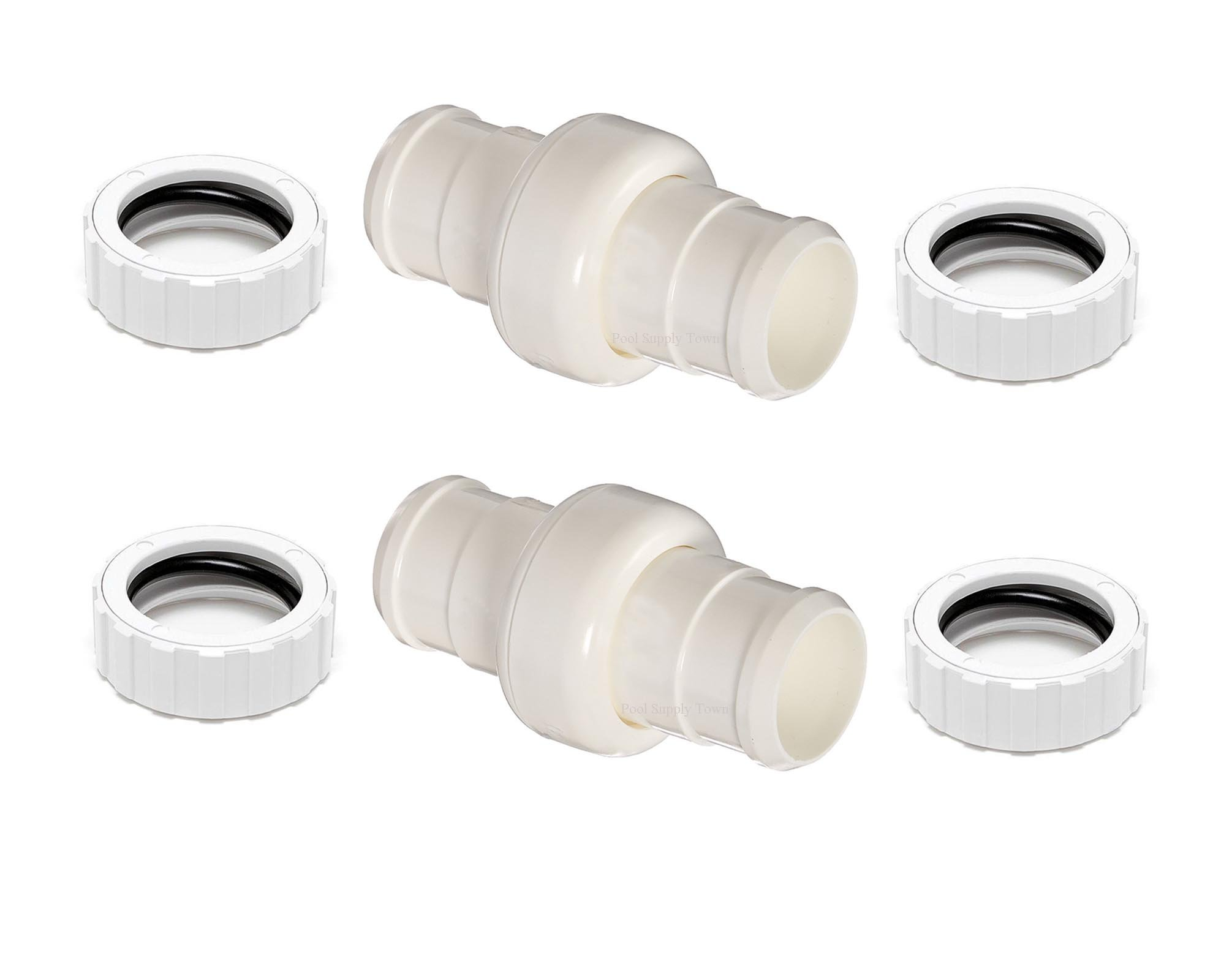 ATIE PoolSupplyTown Pool Cleaner Hose Swivel & Hose Nut Kit Replacement for Polaris 360 Pool Cleaner Hose Swivel 9-100-3002 and Hose Nut 9-100-3109 (2 Pack) by ATIE