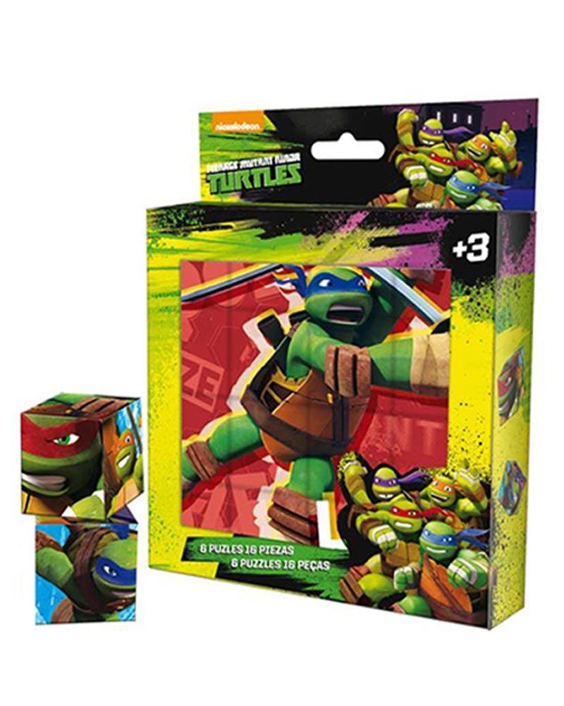 Puzzle Tortugas Ninja 16pz: Amazon.es: Juguetes y juegos