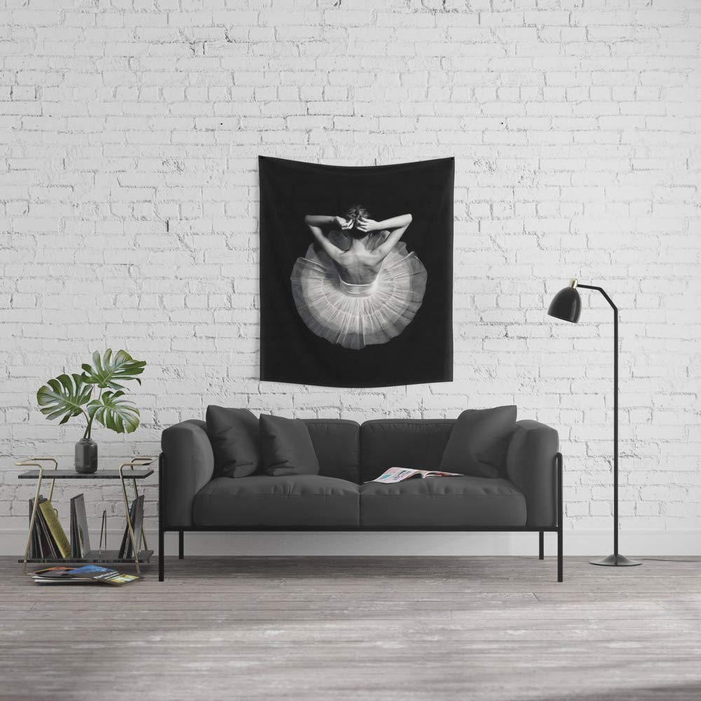 Society6 Wall Tapestry, Size Small: 51'' x 60'', Ready to Dance by underdott