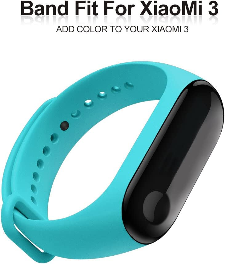 FUNKID Band for Xiaomi 3 Smartwatch Wristbands Replacement Accessaries Straps Bracelets for Mi3 Not for Mi1//2