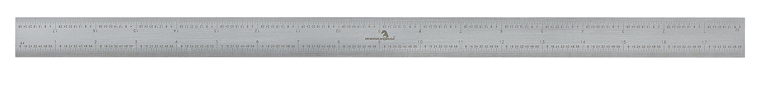 WORKHORSE 3049.13475811 English/Metric Graduations Precision Rigid Rule Blade, 18'' by Workhorse (Image #1)