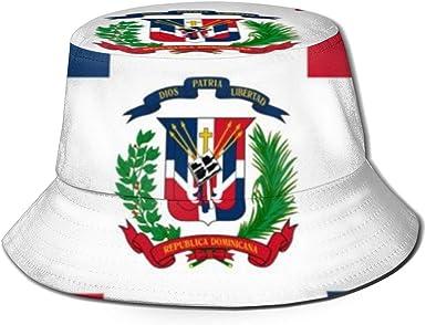 Sombrero de cangilón con Bandera de República Dominicana Sombreros ...