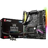 MSI Z370 Gaming Pro Carbon AC, LGA 1151, HDMI, DDR4, 2X Turbo M.2 & 10x USB 3.1(2X Gen2 & 8X Gen1)