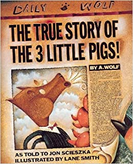 Book The True Story of the 3 Little Pigs