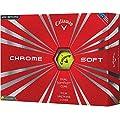 Callaway 2016 Chrome Soft Yellow Golf Balls - 2 Dozen (24 Golf Balls)
