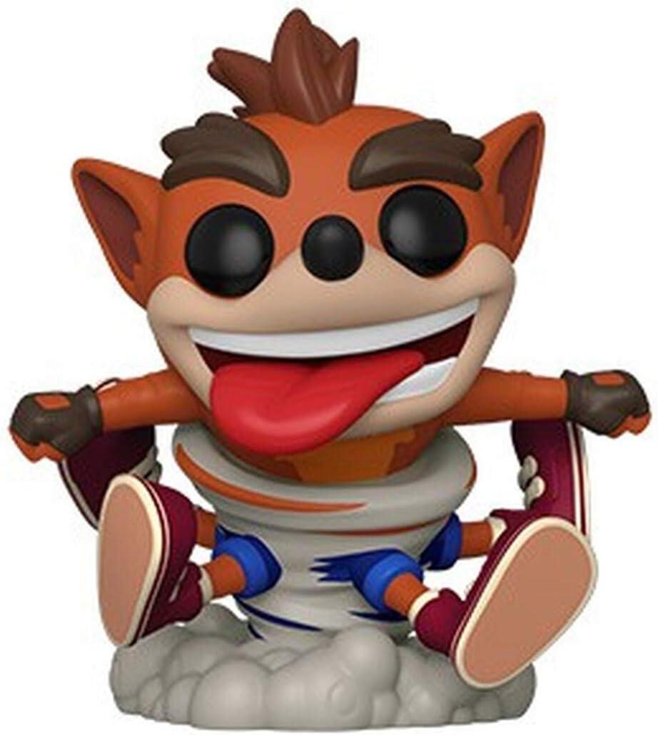 Funko Pop! Figura De Vinil Games: Crash Bandicoot - Crash, Multicolor, Estándar