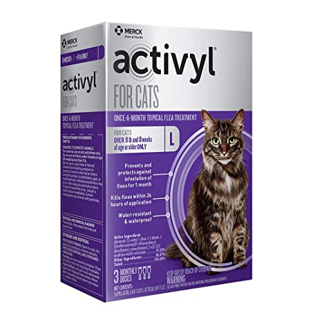 Amazon.com: Activyl para gatos de más de 9 libras, NA: Mascotas